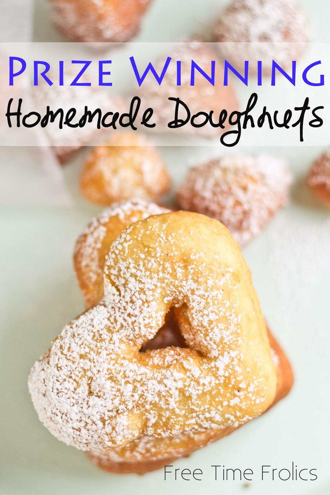homemade doughnut www.freetimefrolics.com #recipe #donut