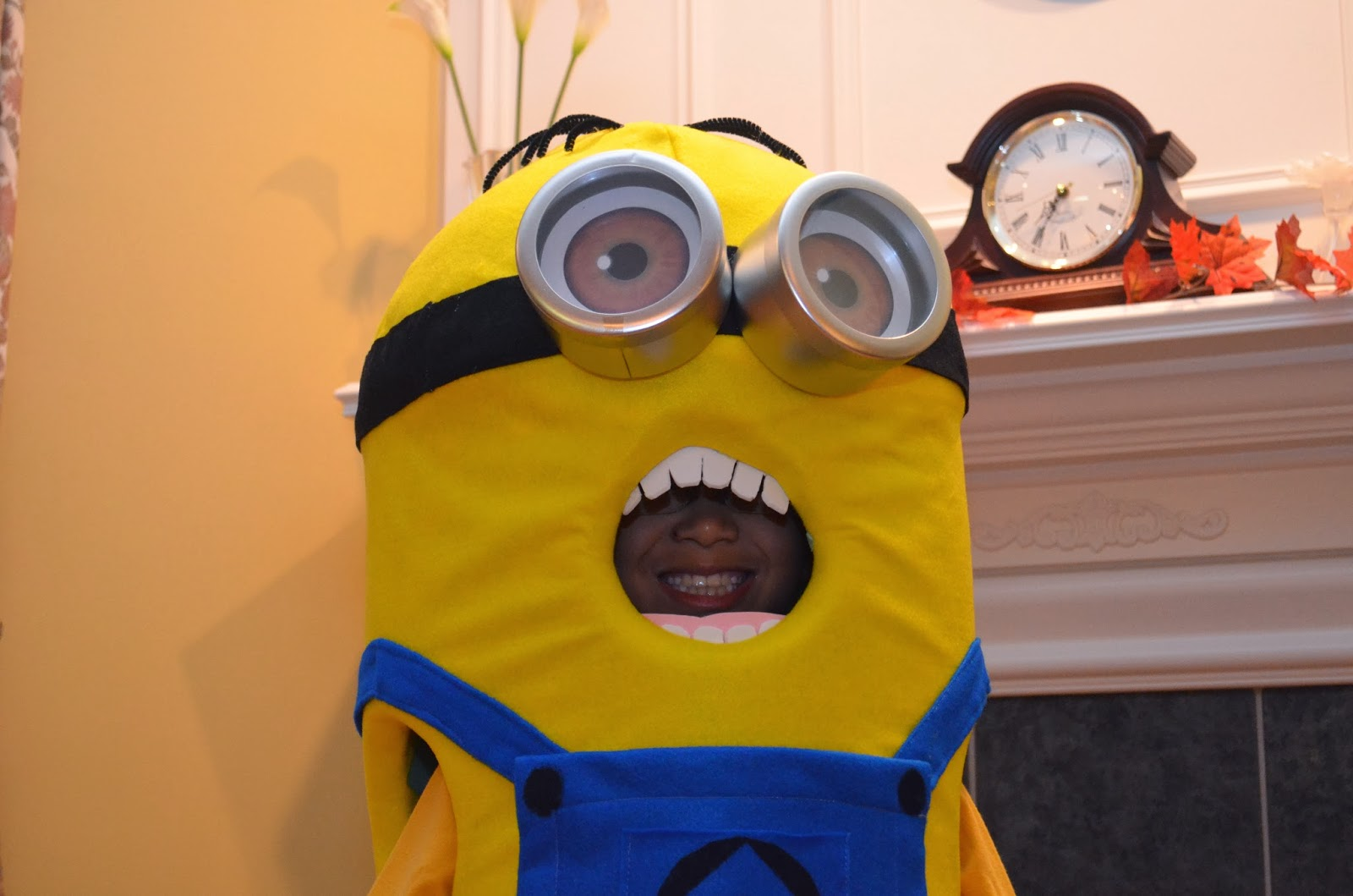 Dave the minion from the movie despicable me
