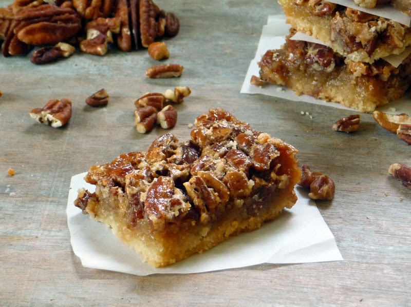 The Best Pecan Pie Bars   by Life Tastes Good