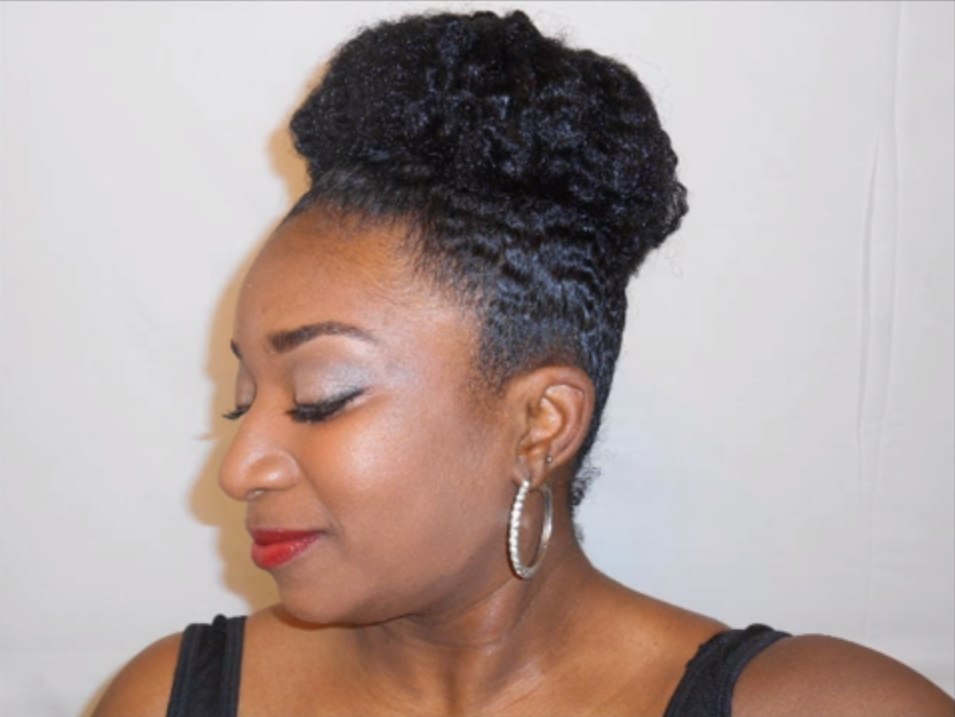 Video embedded · One of the major concerns with short hair buns is ...