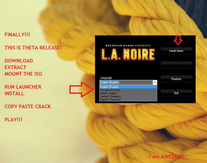 La noire crack pc free download.