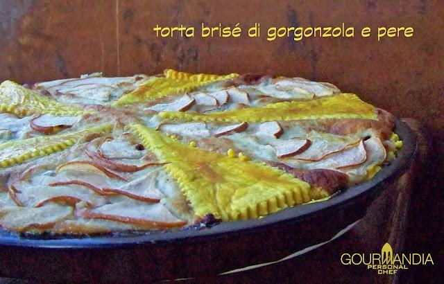 torta di pere e gorgonzola al miele