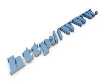 imagen sin copyright con letras azules que simbolizan un dominio