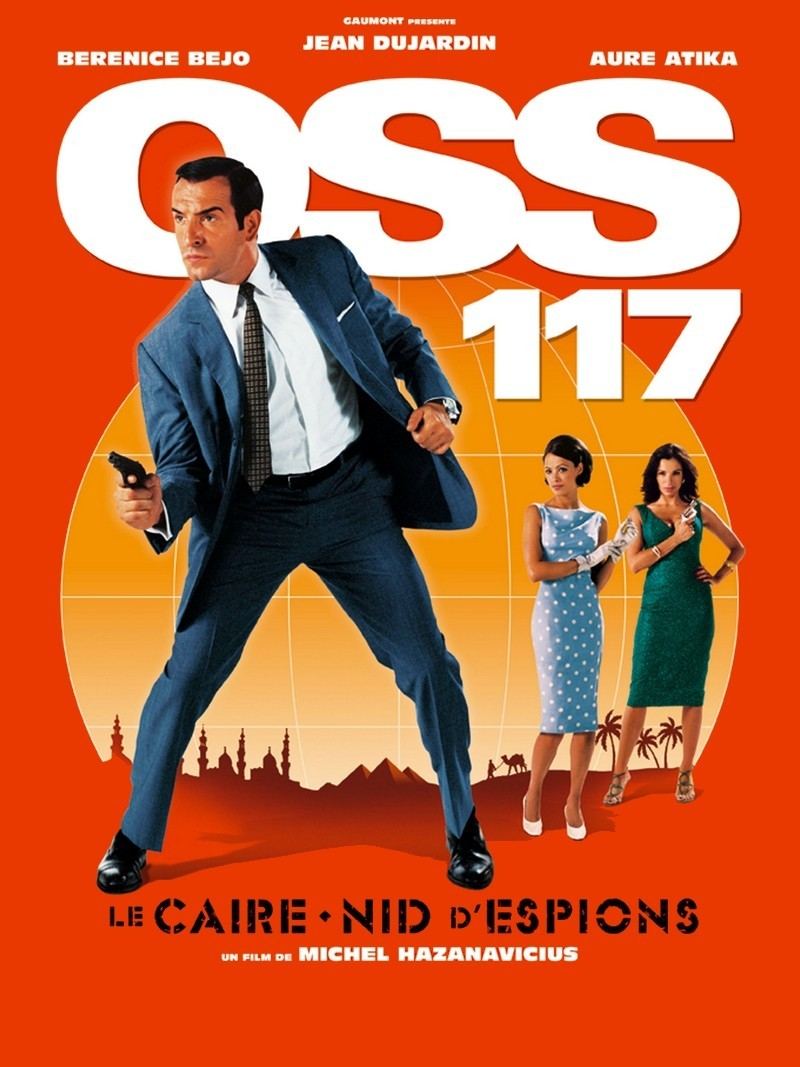 Mini moviereviews oss 117 cairo nest of spies for Film jean dujardin 007