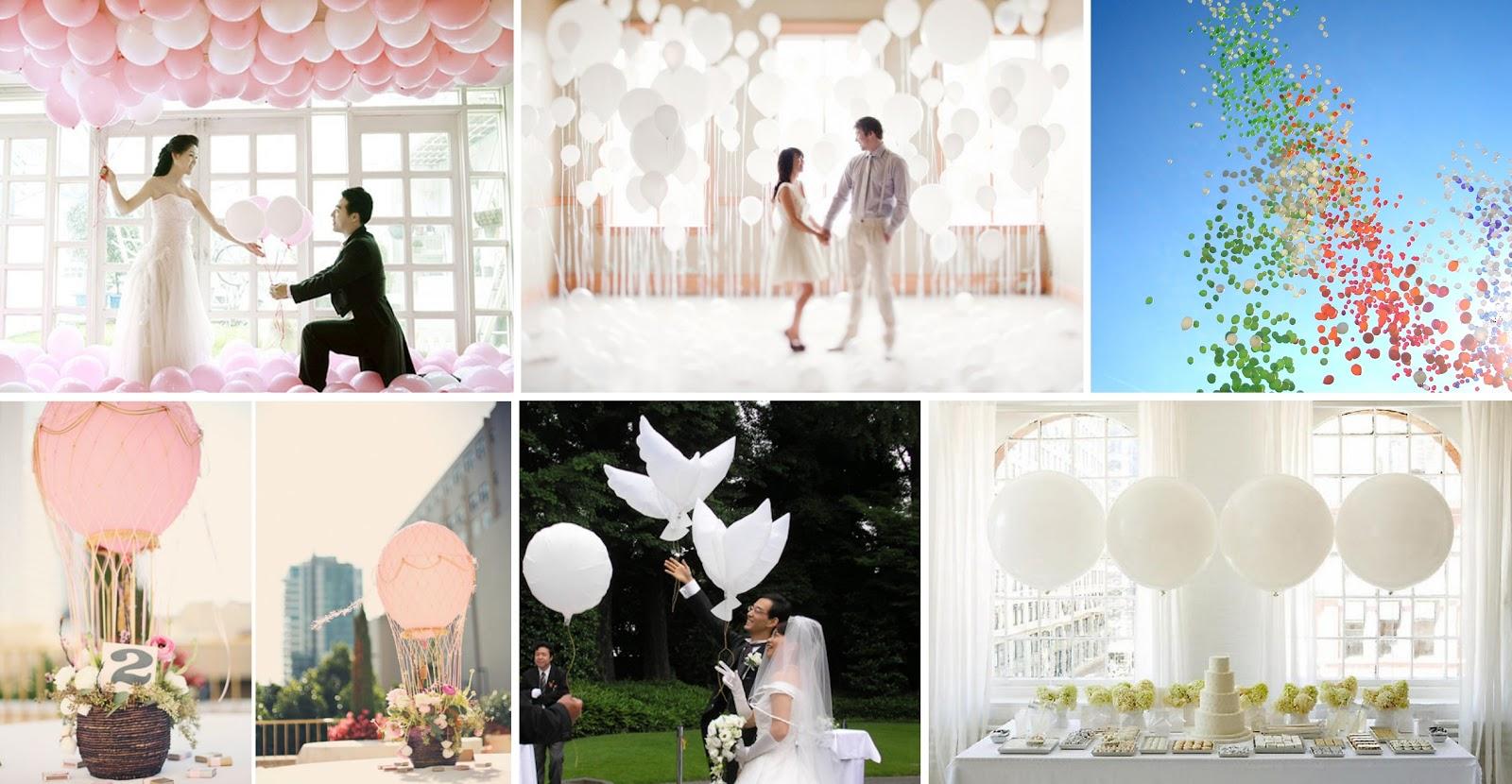 Шары на свадьбу из ниток фото