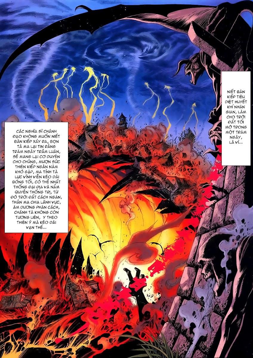 Lục Đạo Thiên Thư chap 4 - Trang 19