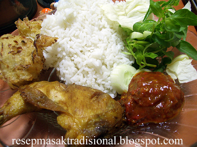 Resep Cara Membuat Pecel Ayam (Banyuwangi)