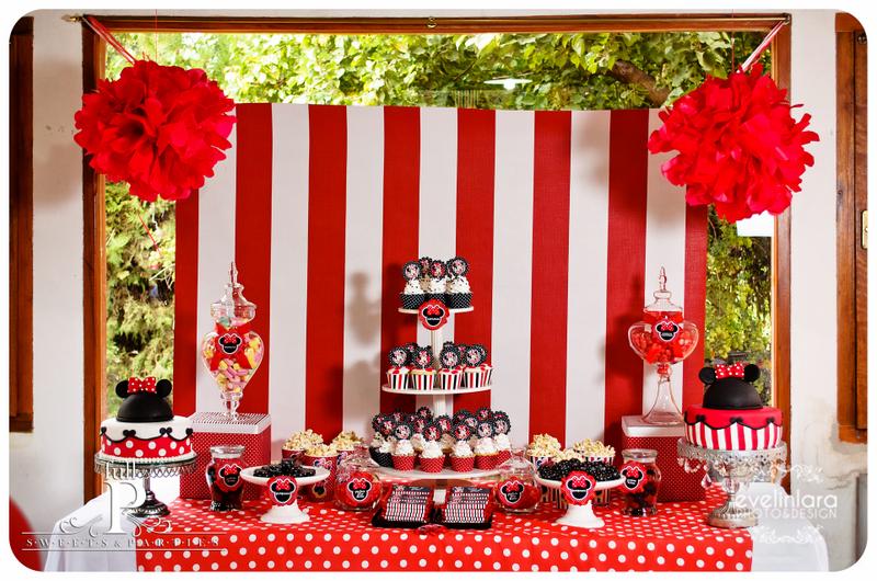 Decoracion Minnie Roja ~ Full P  sweets & parties junio 2011