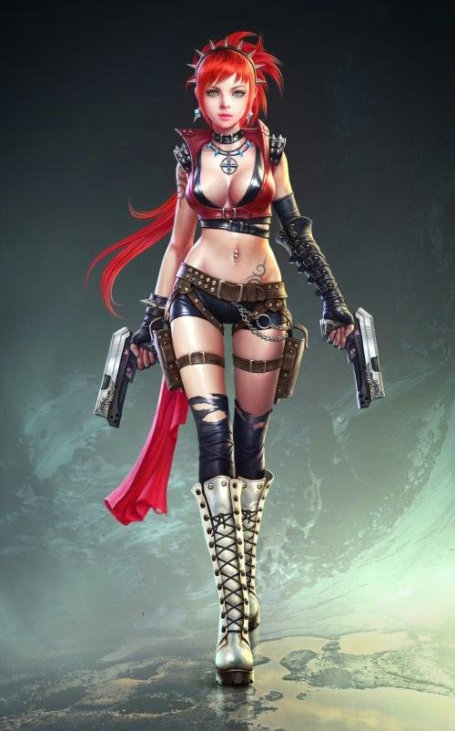 Young-june Choi gpzang deviantart ilustrações fantasia games
