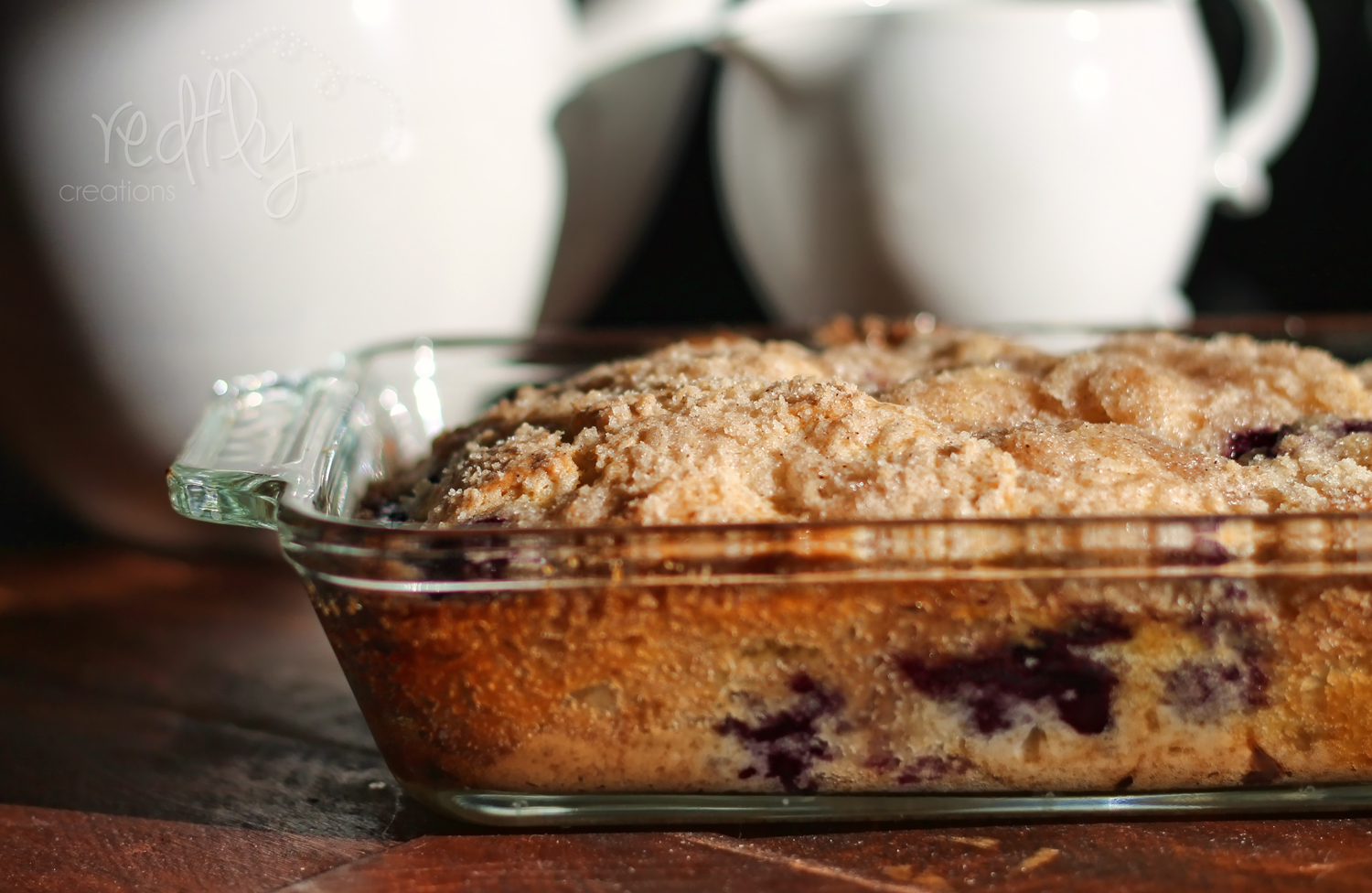 Redfly Creations: Blueberry Coffee Cake