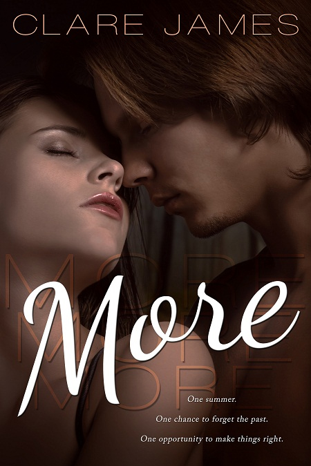 COVER REVEAL: MORE by Clare James