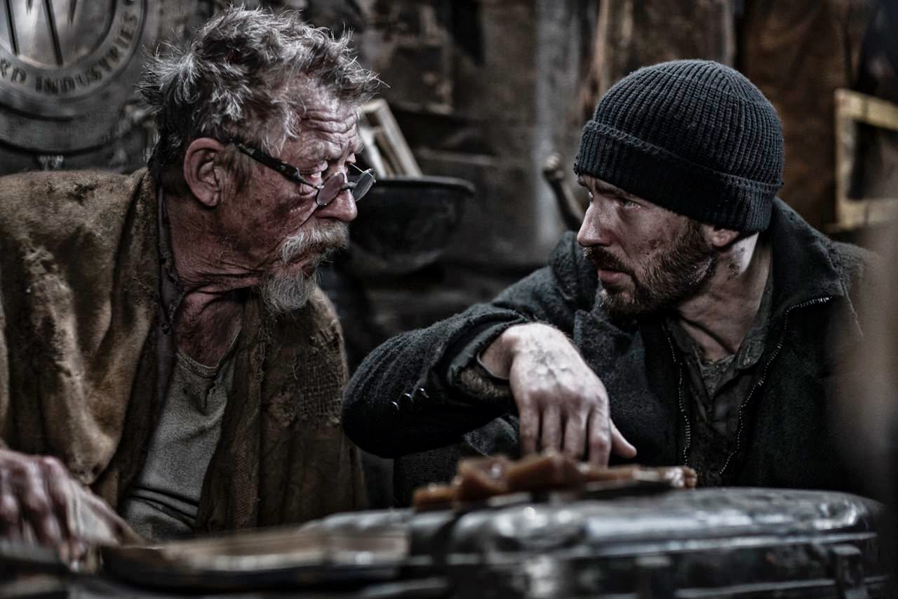 snowpiercer john hurt chris evans