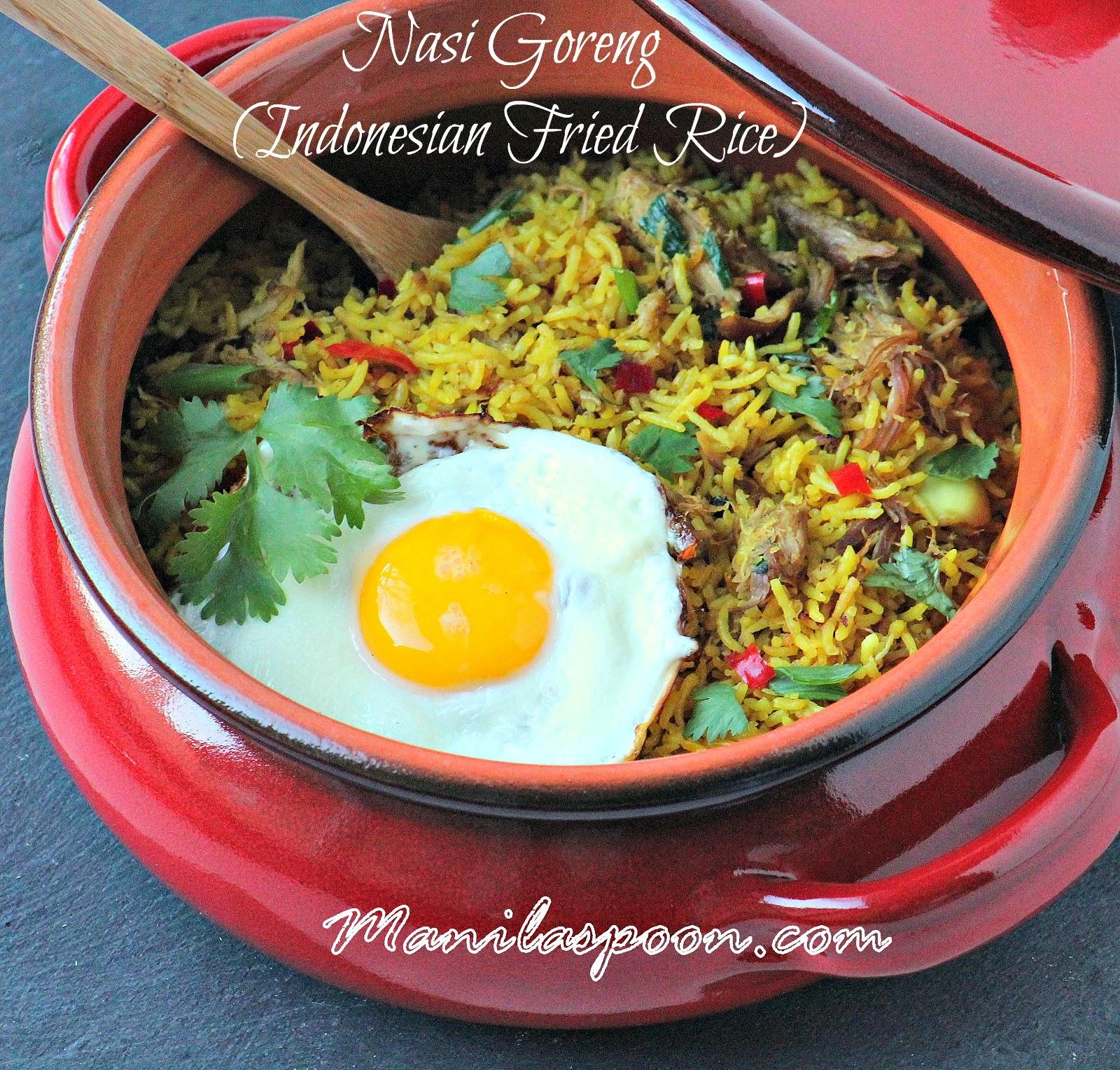 how to cook nasi goreng rice
