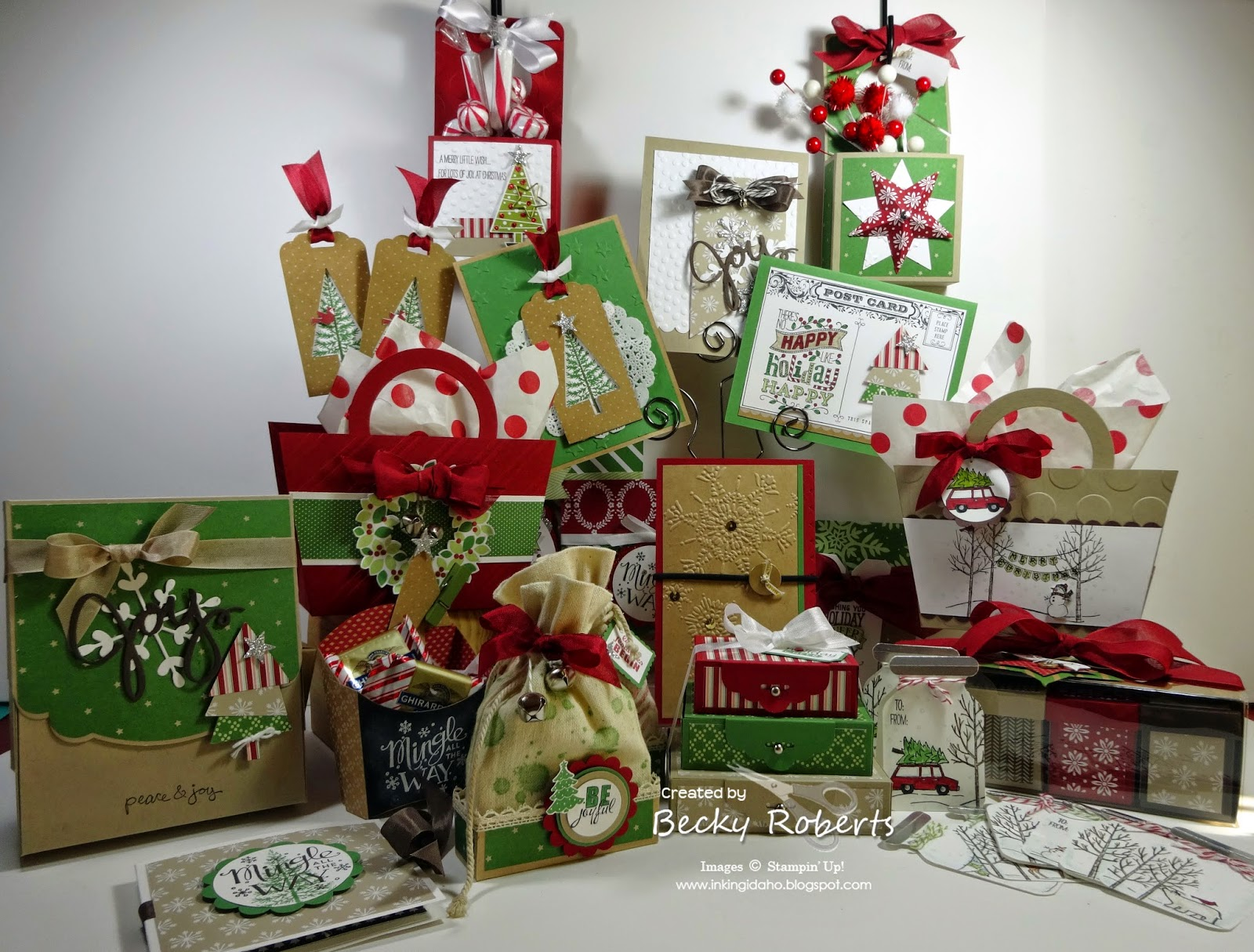 Ordinary Stampin Up Christmas Craft Fair Ideas Part - 11: 12 Days Of Christmas 2014 Edition