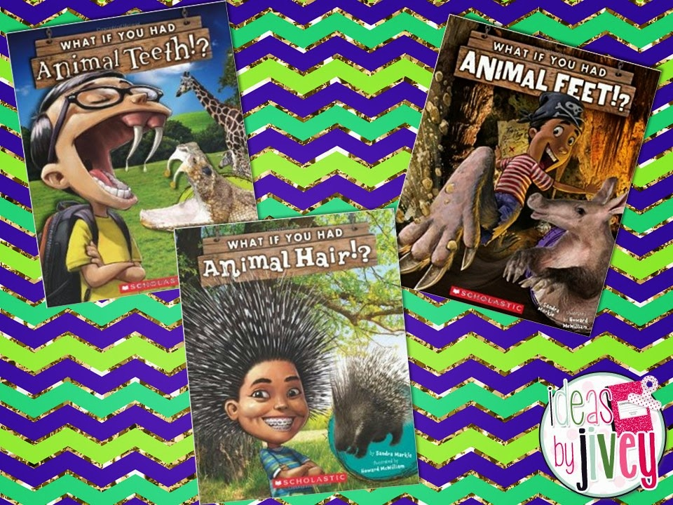 Animal adaptations in science using Sandra Markle's Books with Ideas by Jivey.