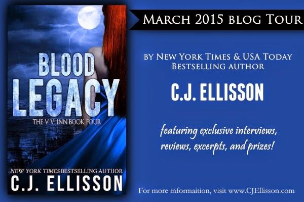 Blood Legacy Blog Tour