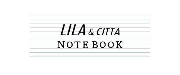 LILA&citta note book