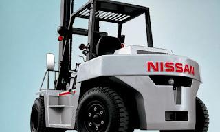 xe nang diesel nissan 6 tan