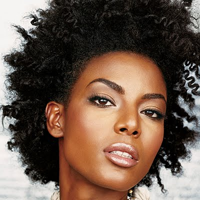 short hair styles afro