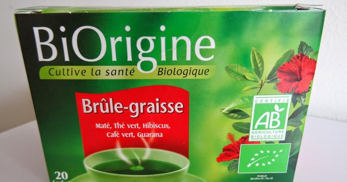 Gaëlle Cosmétiques: BiOrigine, le thé Brûle-graisse
