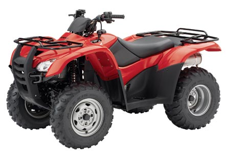 Honda Rancher 420 AT service manual.