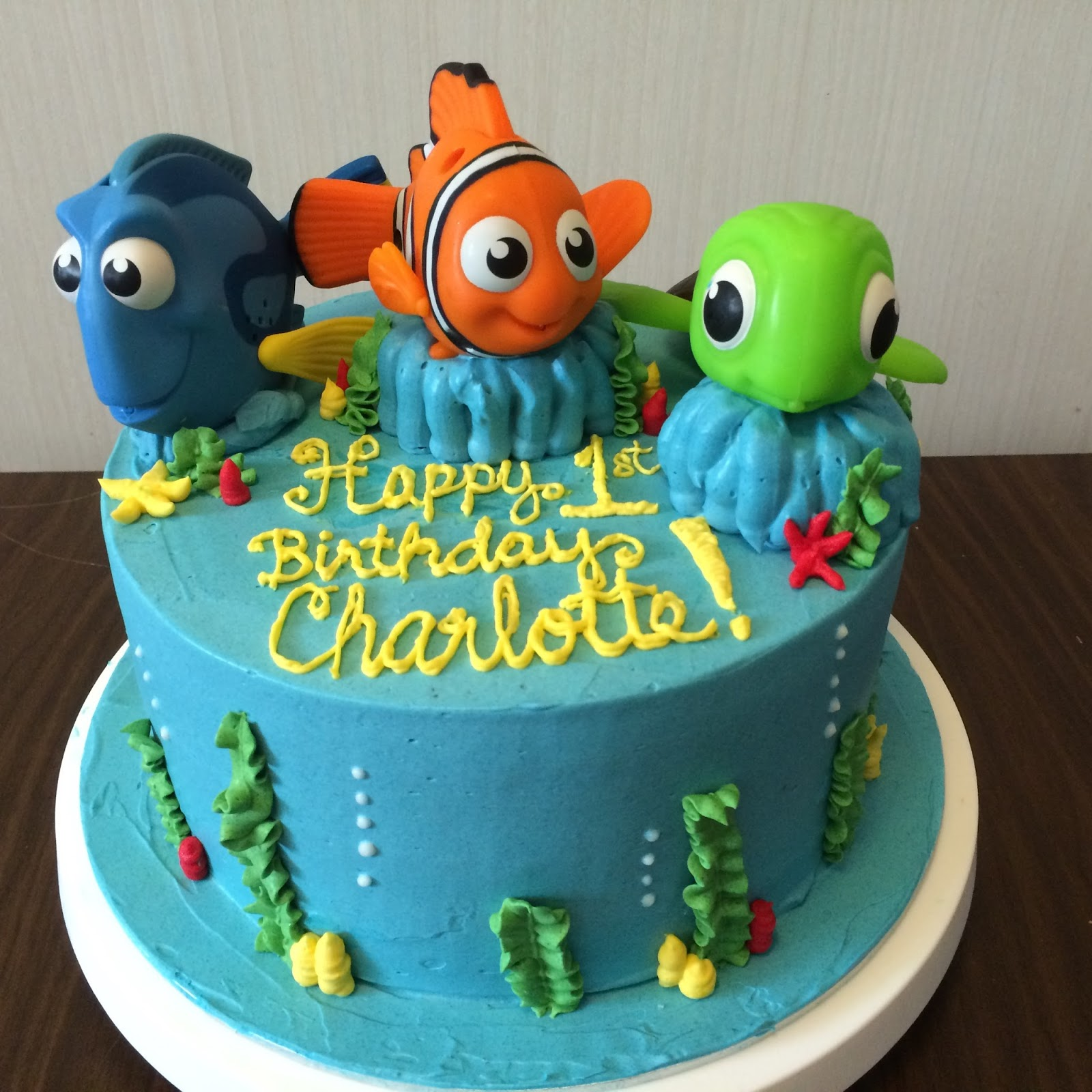 Cake Design Nemo : 1000+ images about Cake and Cupcake Decorating Ideas on ...