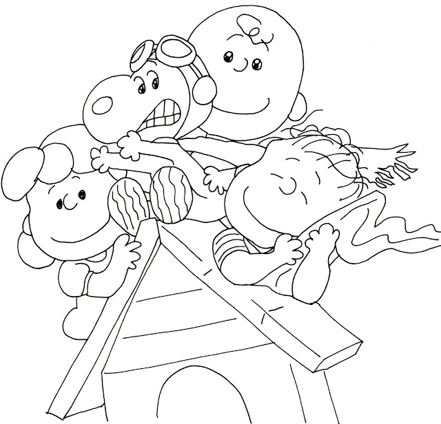 Free Charlie Brown Snoopy And Peanuts Coloring Pages Coloring Page Peanuts