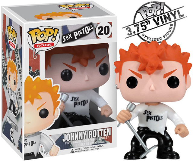 Johnny Rotten Action Figure