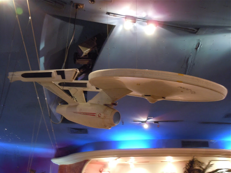 Star Trek USS Enterprise film prop