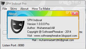 Inject SPH Indosat Pro