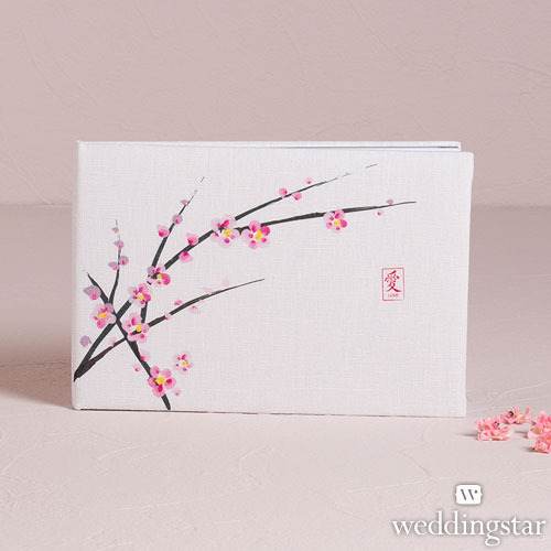 http://www.weddingfavoursaustralia.com.au/products/cherry-blossom-traditional-guest-book