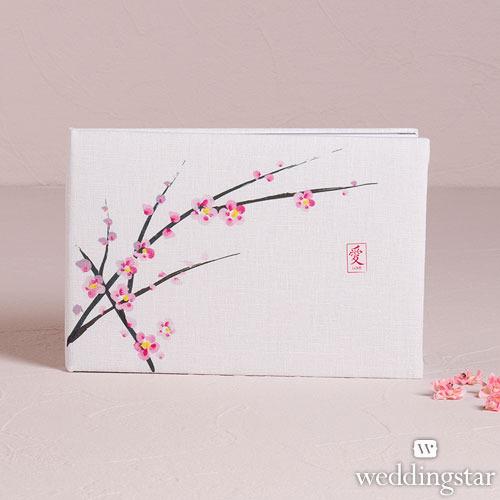 http://www.weddingfavoursaustralia.com.au/products/cherry-blossom-traditional-guest-book