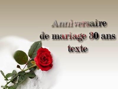 30 ans de mariage texte invitation mariage carte mariage texte mariage cadeau mariage - Anniversaire mariage 4 ans ...