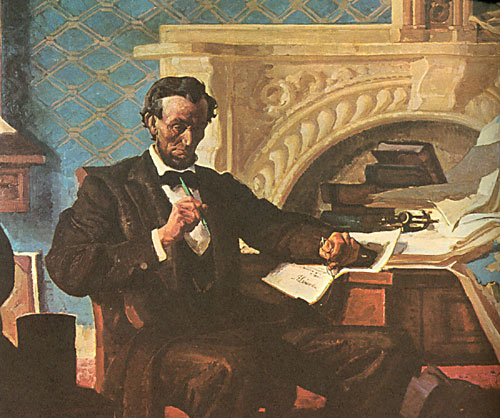 lincoln - emancipation proclamation essay Freeing the slaves: why did abraham lincoln issue the emancipation proclamation write you'll write a four-paragraph argument essay in response to the lesson.