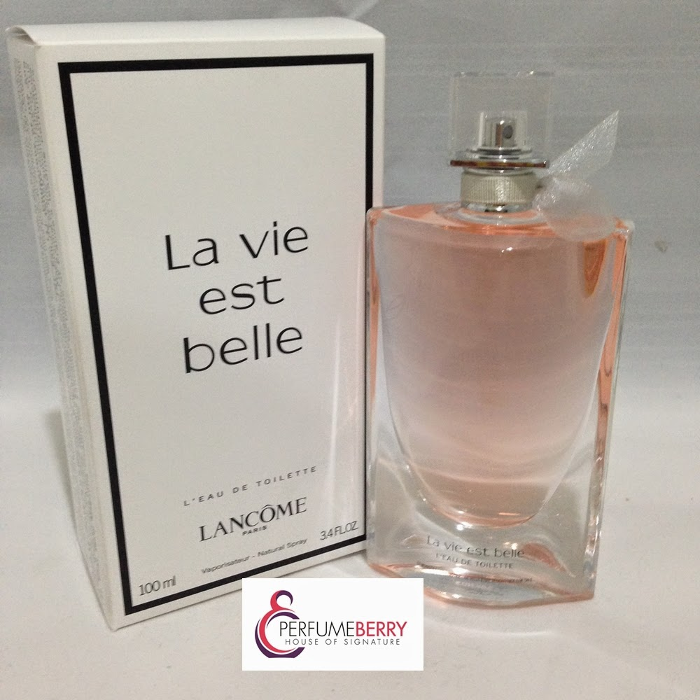 latest perfume lancome la vie est belle edt. Black Bedroom Furniture Sets. Home Design Ideas