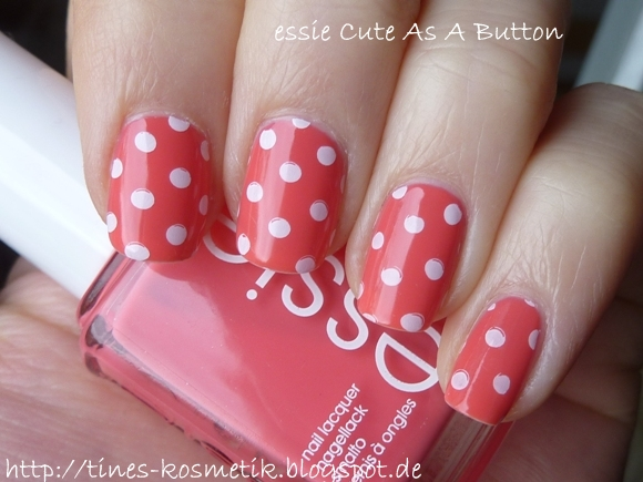 essie Cute As A Button Stamping 1