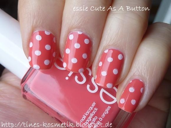 essie Cute As A Button Stamping 1