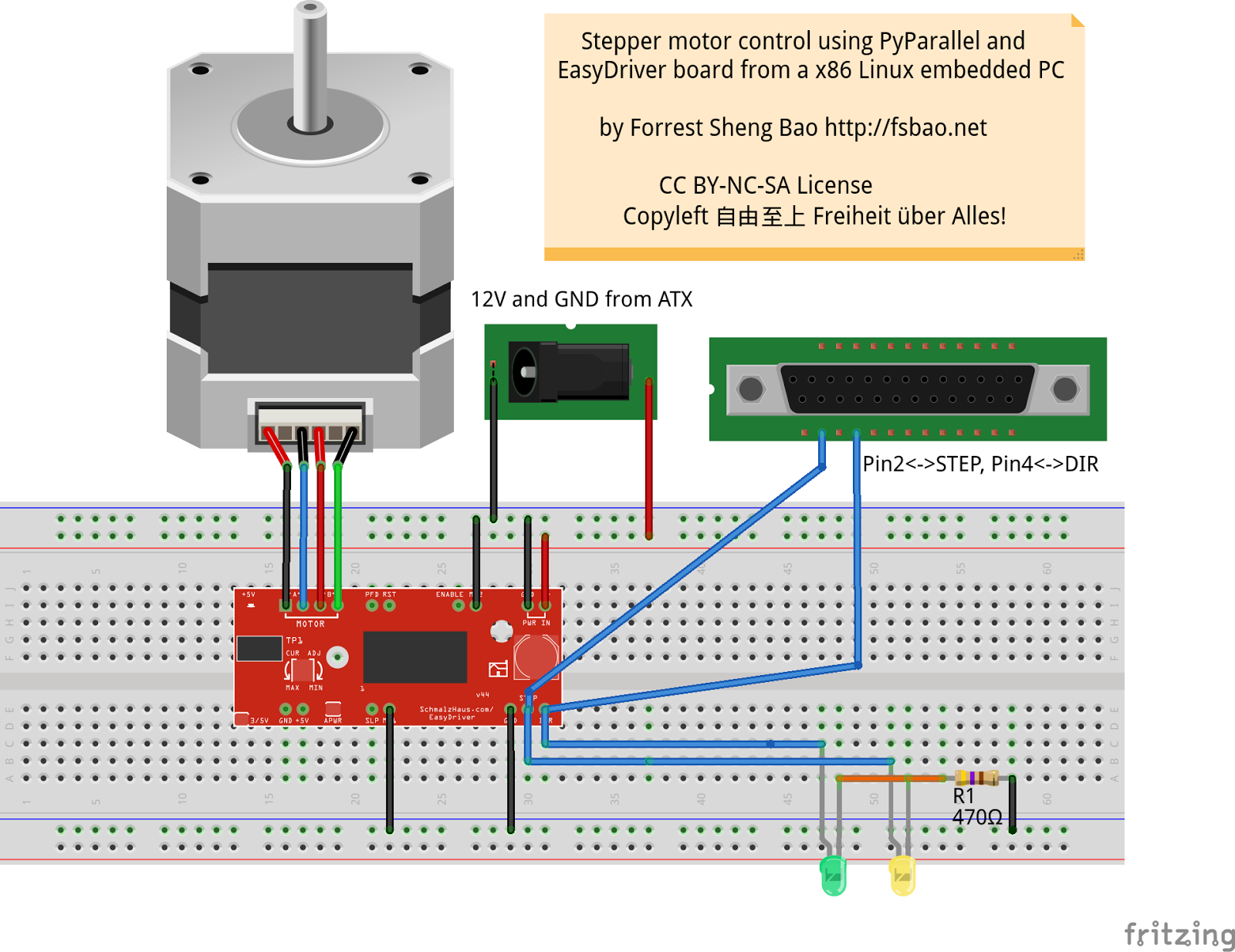 Think Forrest Think Stepper Motor Control With