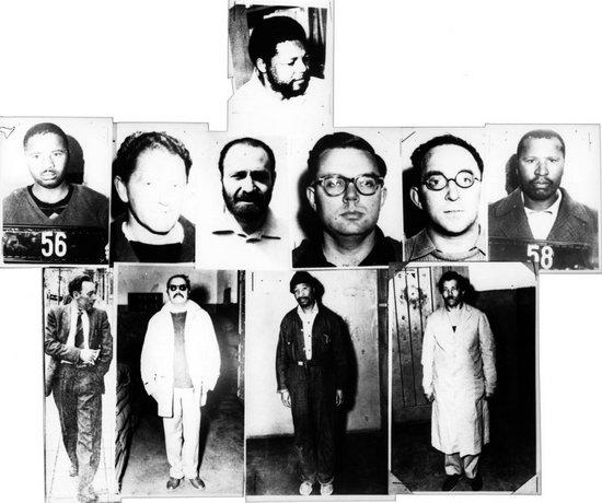 7 ANC MEMBERS JAILED NELSON MANDELA MADIBA TATA