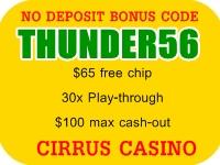 Cirrus casino code