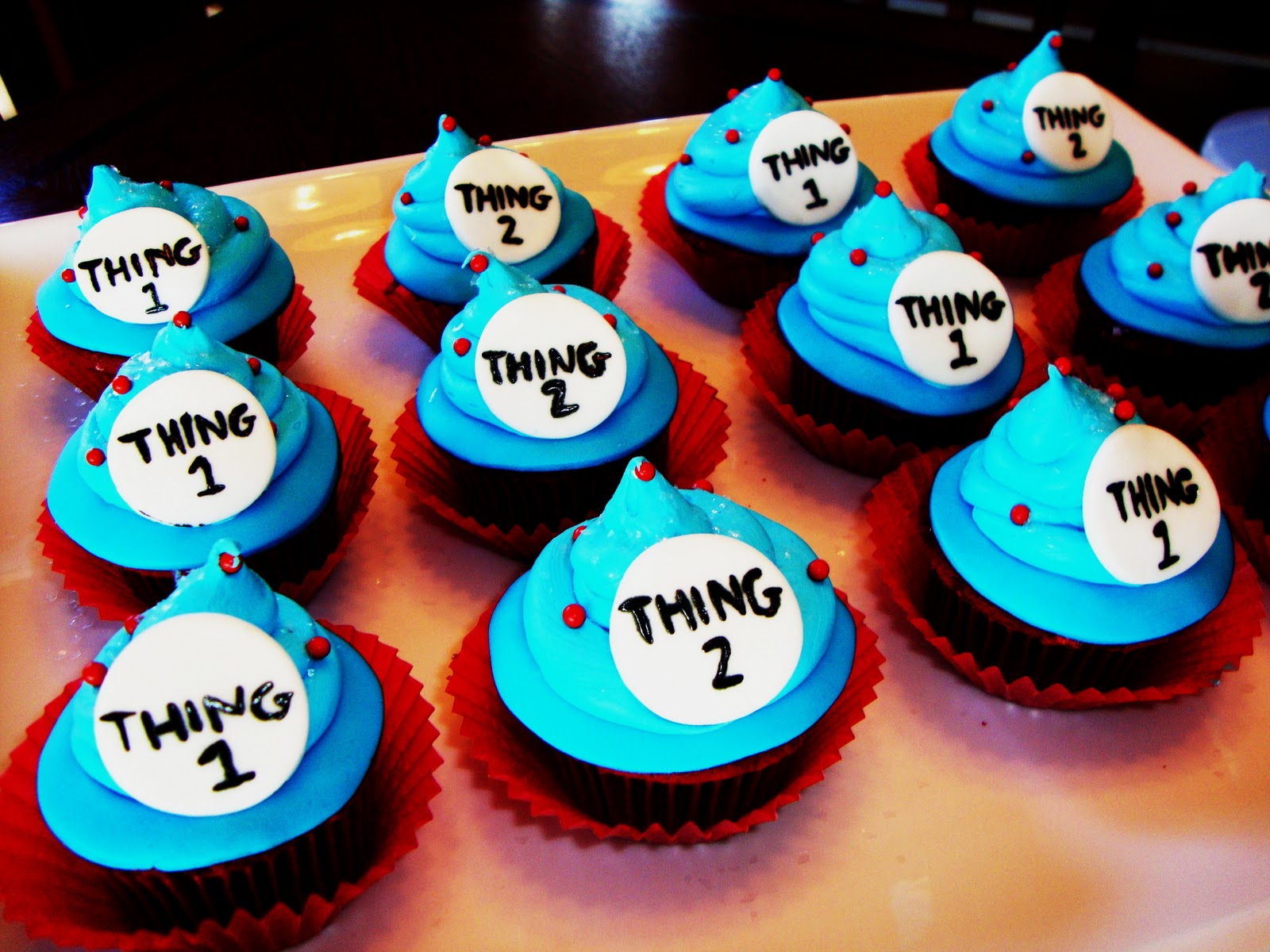 Cake Obsessions THING 1 & THING 2 HOW DO YOU DO
