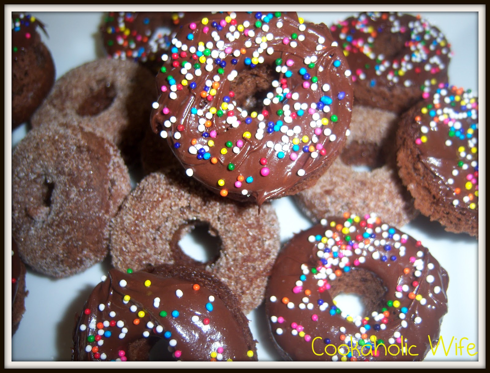 Baked Chocolate Cinnamon Doughnuts Recipes — Dishmaps