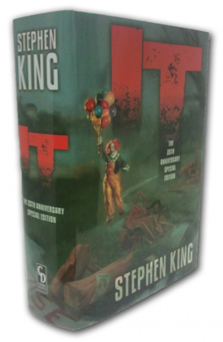 Stephen King IT 25th Anniversary Cemetery Dance Gift Edition - Slipcase Only