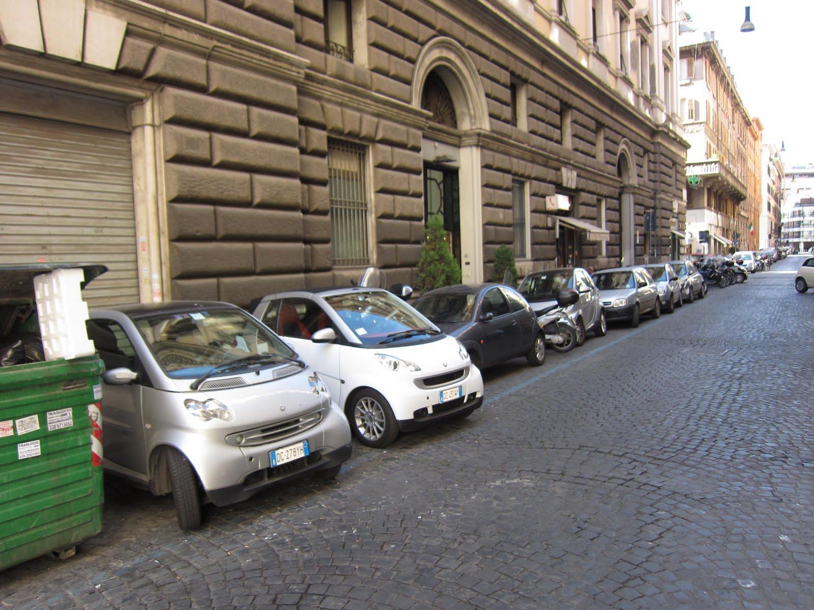 Can You Park Smart Car Sideways