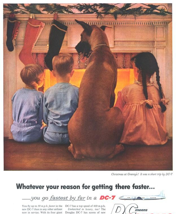 34 Old Christmas Ads Vintage Everyday
