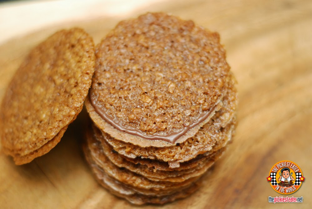Lace Crisps Hazelnut Chocolate