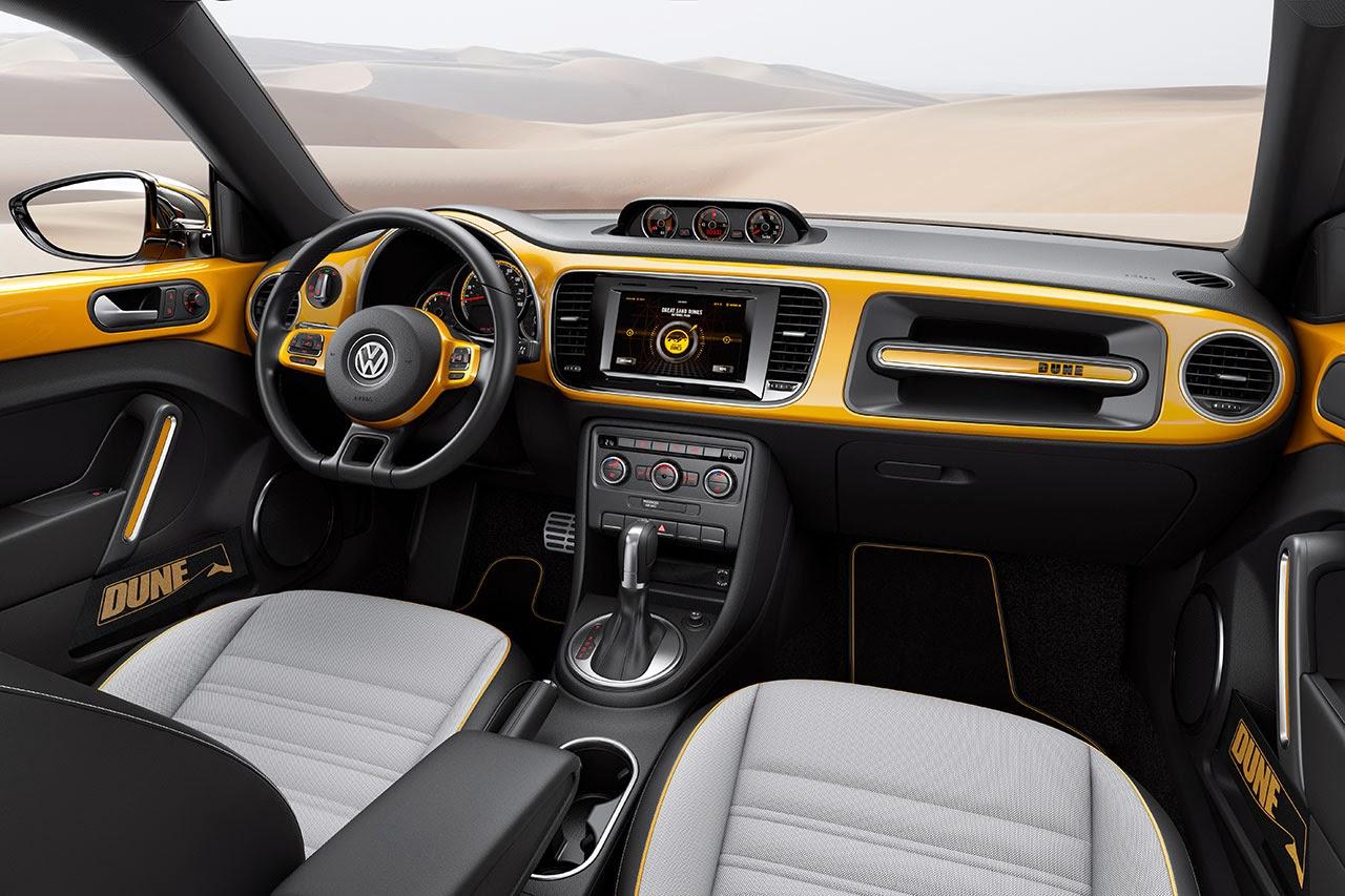 Volkswagen Beetle Dune Concept Car dash