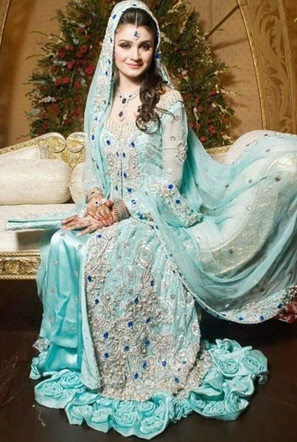 Walima Dresses With Prices Latest Sky Blue Walima Dress