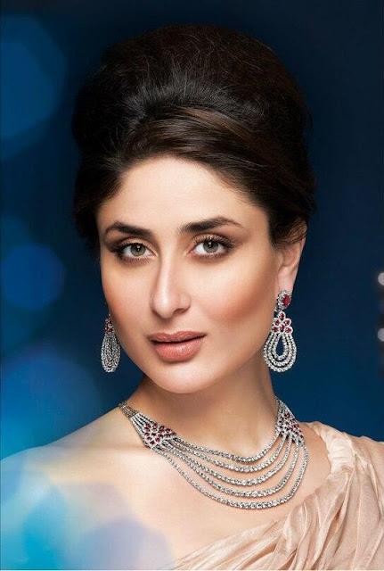 Kareena Kapoor's Latest Malabar Jewellery Ads shoot