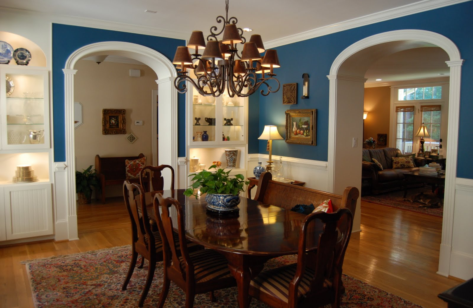 Imparting grace decorating my dining room for Dining room color design ideas